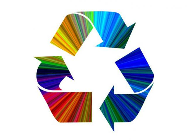 Image of recycling icon